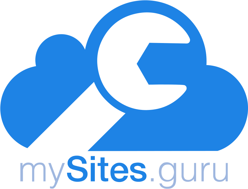 The mysites.guru logo