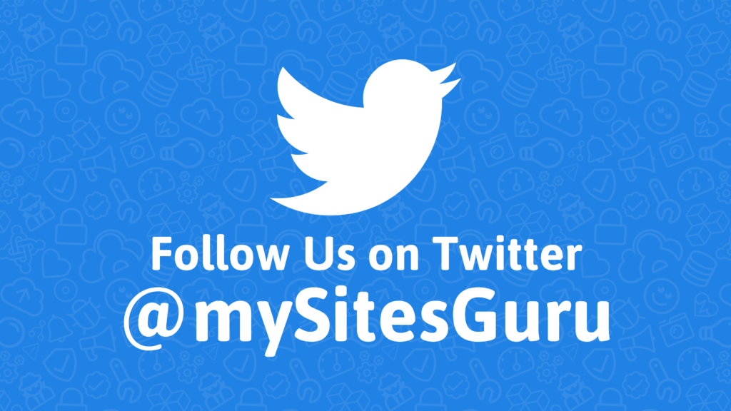 Where to keep up to date with mySites.guru news and announcements